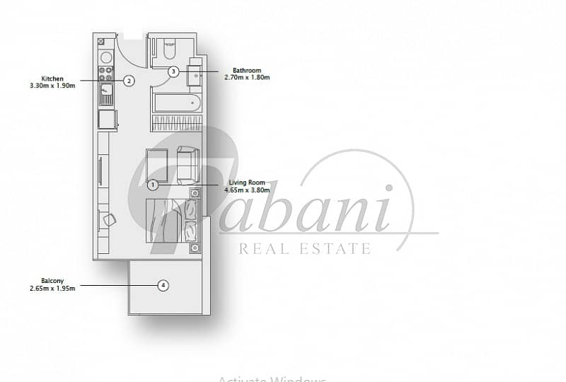 10 Brand new| Balcony|walking kitchen |chiller free|