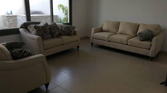 Type 2. 3BR + MR TH in Zahra. Furnished. Landscaped. B2B