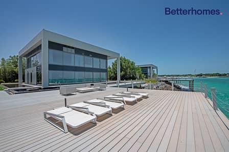 4 Bedroom Villa for Sale in Nurai Island, Abu Dhabi - Gorgeous Exclusive Deluxe 4BR Water Villa