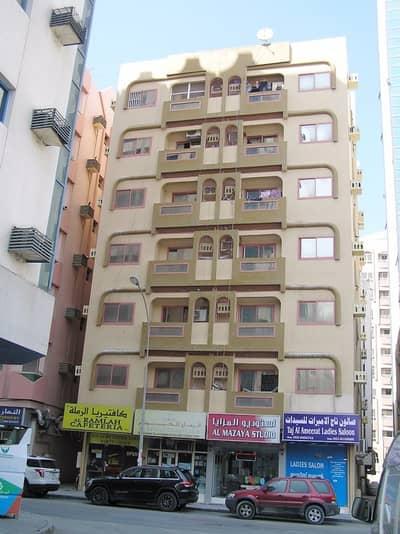 2 Bedroom Apartment for Rent in Rolla Area, Sharjah - 2 B/R HALL FLAT IN UMM AL TARAFA AREA NEAR KM TRADING ROLLA