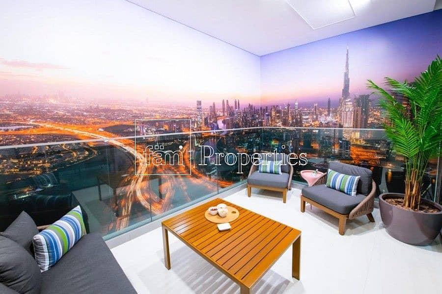 Spacious 2 BR Duplex | High Floor | Panoramic View