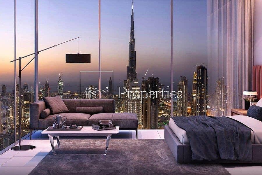 2 Spacious 2 BR Duplex | High Floor | Panoramic View