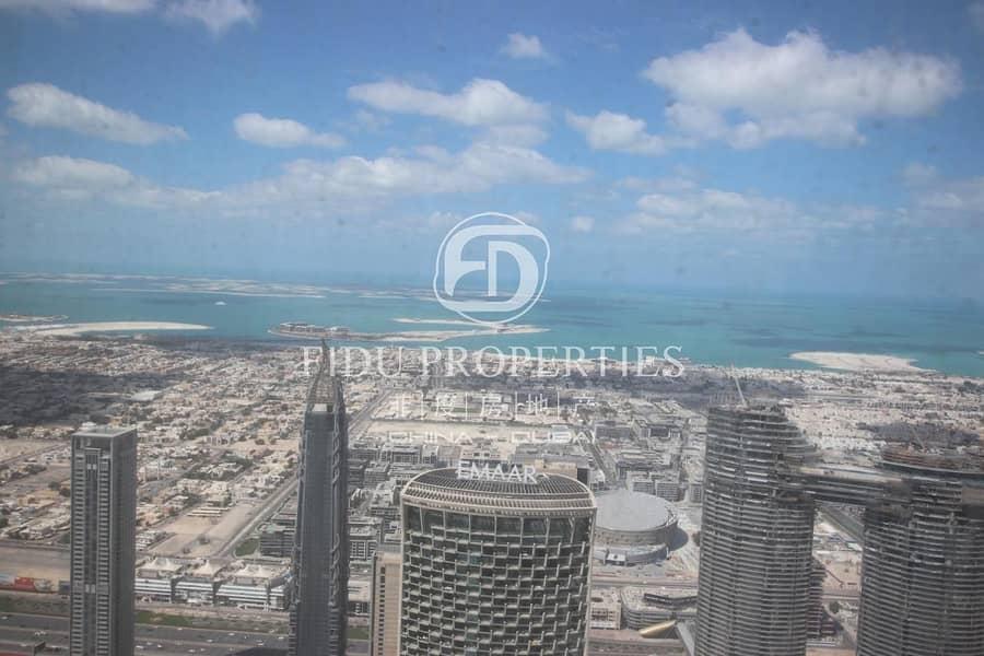 Iconic Location | Full Sea View | High Floor