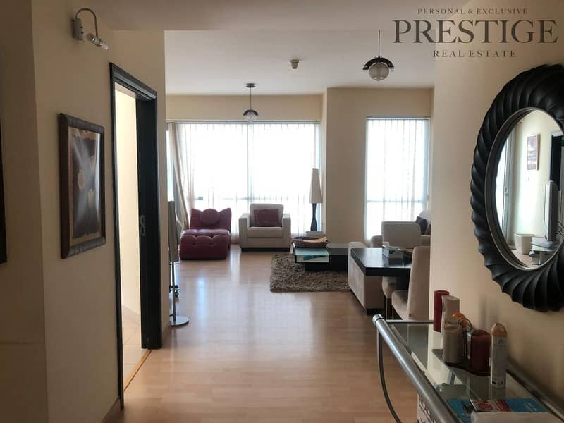 2 Mid  Floor| Furnished 2 Bed | Marina Views