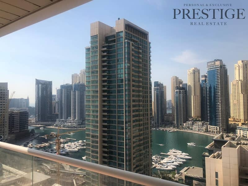 Mid  Floor| Furnished 2 Bed | Marina Views