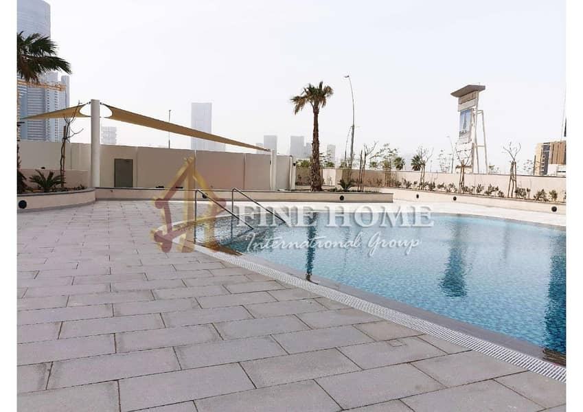 2 Fantastic Apartment 3BR + Maid With Sea View