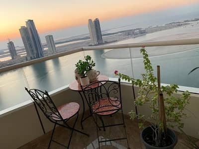 شقة 3 غرف نوم للبيع في الخان، الشارقة - Full Sea View | Maid's room | Type 03 in ASAS Tower