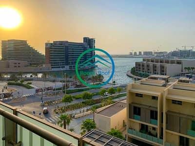 شقة 1 غرفة نوم للايجار في شاطئ الراحة، أبوظبي - Beautiful Water Front Residence with Beach Access