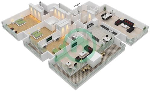 Emirates Crown Floor Plans Dubai Marina Bayut Dubai