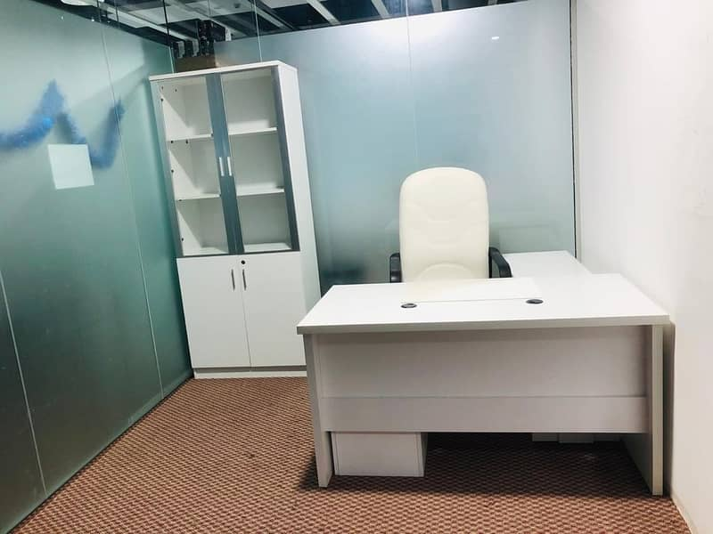 2 Executive office in Karama 120 SQFT with all utilities