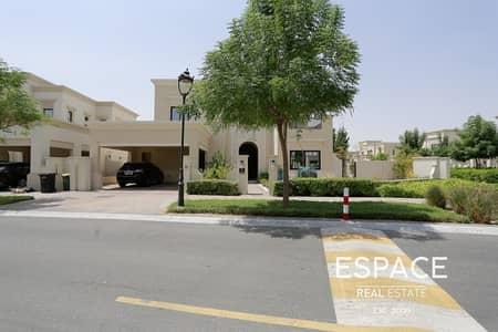 فیلا 4 غرف نوم للايجار في المرابع العربية 2، دبي - White Wood Finish - End Plot - Oct 2020