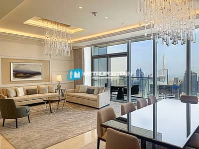 4BR+M Penthouse SkyCollection / Burj Khalifa views