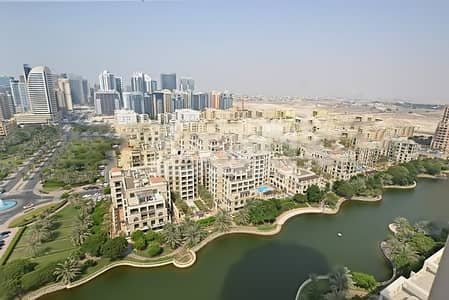 1 Bedroom Apartment for Rent in The Views, Dubai - Well Maintained 1BR | Full Canal View | High Floor