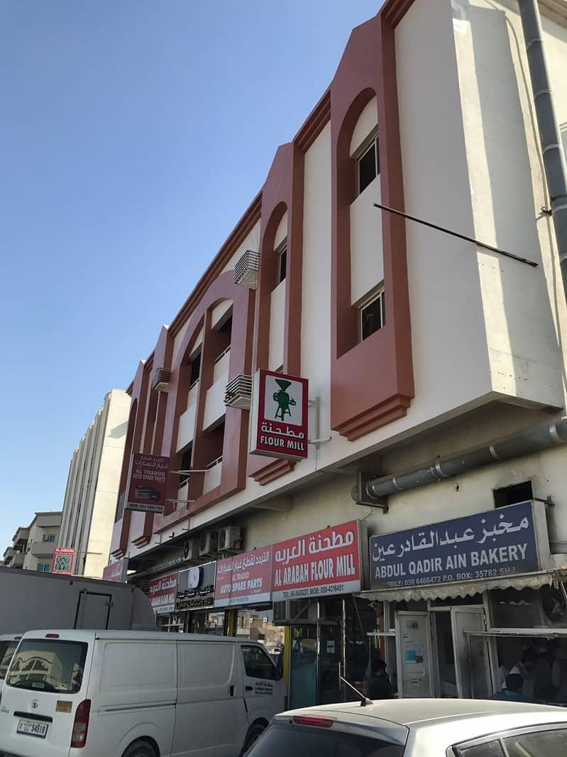 بنايه للبيع في الصناعيه السادسه موقع مميز على الشارع العام الدخل السنوي 780 الف