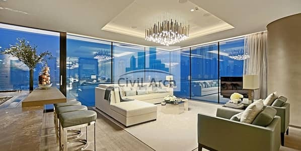 STUNNING FULL SEA DUPLEX PENTHOUSE OF PALM JUMEIRAH -TRULY UNMATCHED