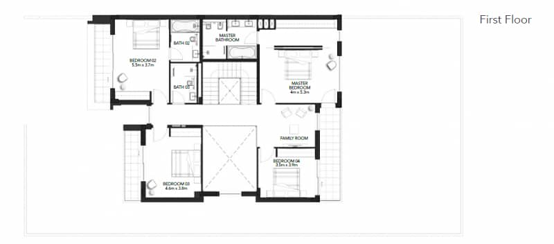 15 Unparalleled 4 BR Duplex Type X Villa In Yas Acres