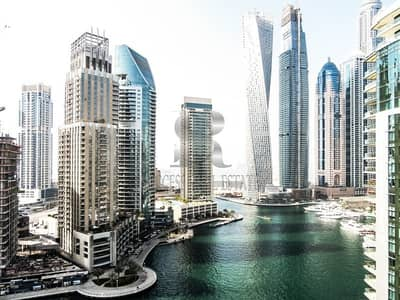 3 Bedroom Flat for Rent in Dubai Marina, Dubai - Full Marina View  | Huge 3BR + Maid + Study