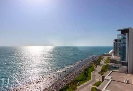 فلیٹ 4 غرف نوم للايجار في جزيرة بلوواترز، دبي - Panoramic Sea View - Vacant - Luxury Living