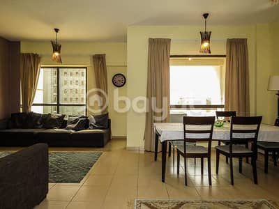 3bed +Maids room jbr sadaf fully furnished