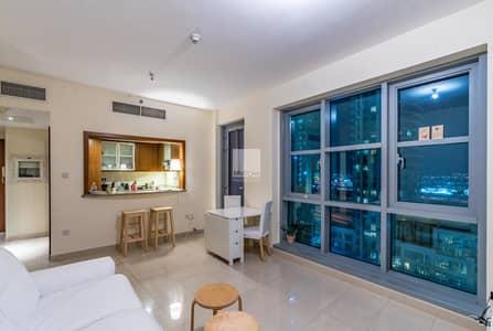 شقة 1 غرفة نوم للبيع في وسط مدينة دبي، دبي - Well  Laid  Out  with  Partial  Burj  Views