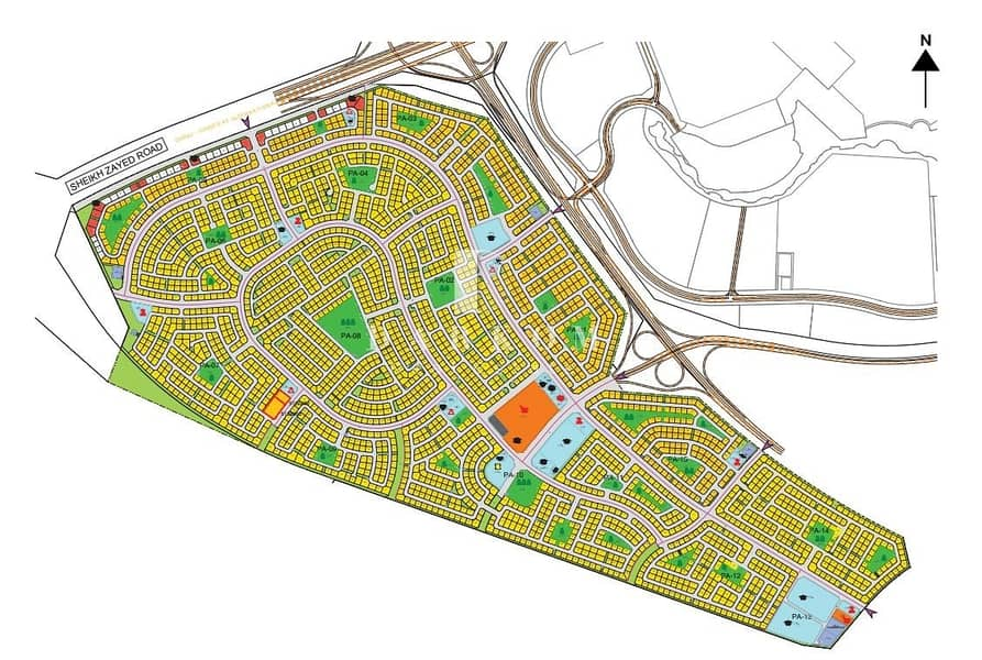 2 G+4 Residential Plot in Jebel Ali Hills