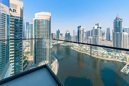 شقة 3 غرف نوم للبيع في دبي مارينا، دبي - Full Marina View | High Floor | New  3 BR