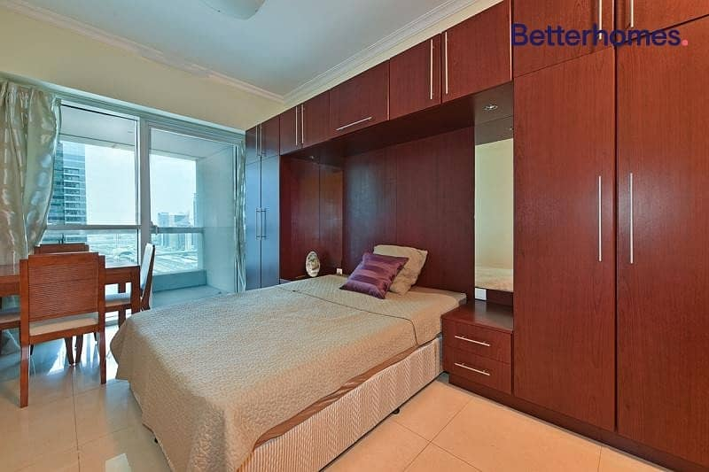 Furnished | Balcony | High Floor | Cluster Q