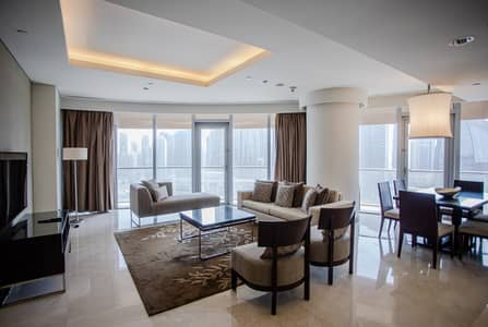 3 Bedroom Flat for Rent in Downtown Dubai, Dubai - Address Dubai Mall 3BHK Full Burj View