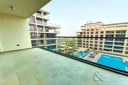 2 Bedroom Flat for Sale in Dubai Hills Estate, Dubai - 2 Bedroom | Extended Terrace | Pool View