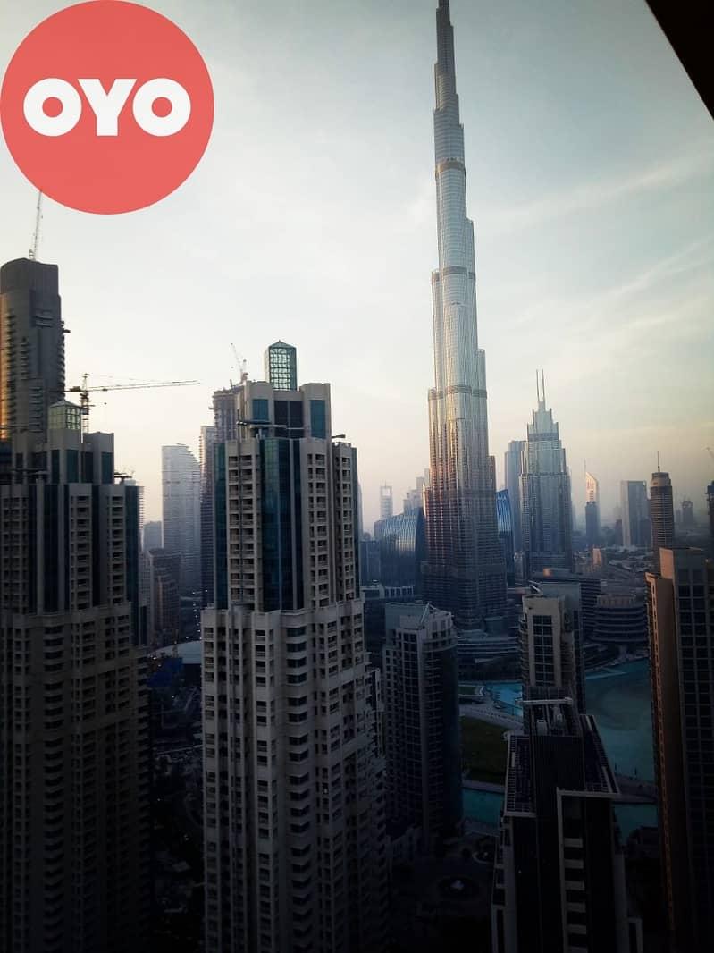 543 Spacious Fully Furnished 2BHK | Free Wifi | Vida Residences at Downtown Dubai