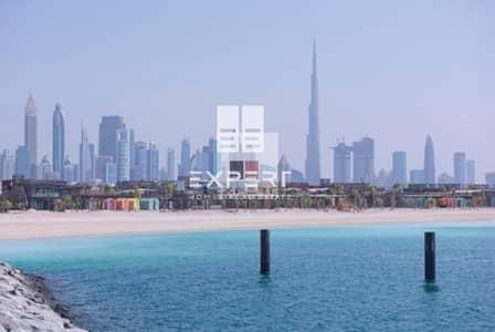 ارض سكنية  للبيع في لؤلؤة جميرا، دبي - WOw deal On the park square plot pearl jumerah 1