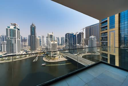 2 Bedroom Apartment for Sale in Dubai Marina, Dubai - Maid's Room | Superb Marina View | Mid Floor