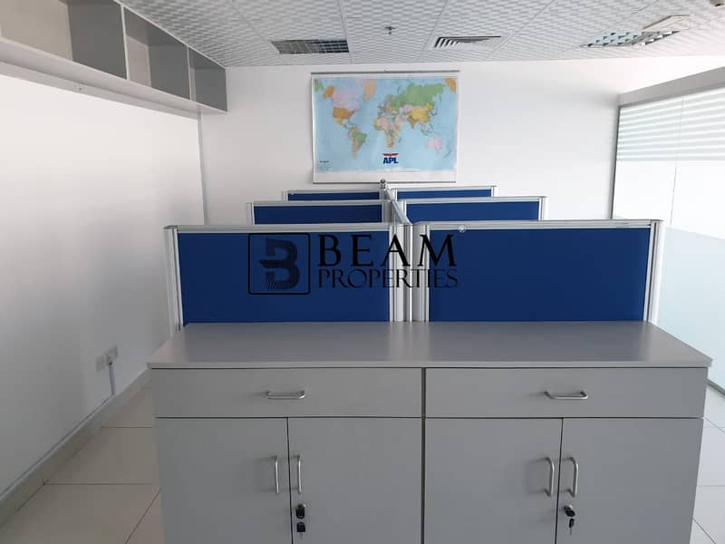 2 Nice furnished office available for rent