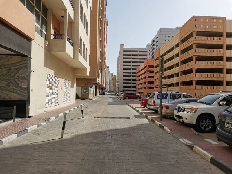 7 Road Side Shop for rent in Al Nahda