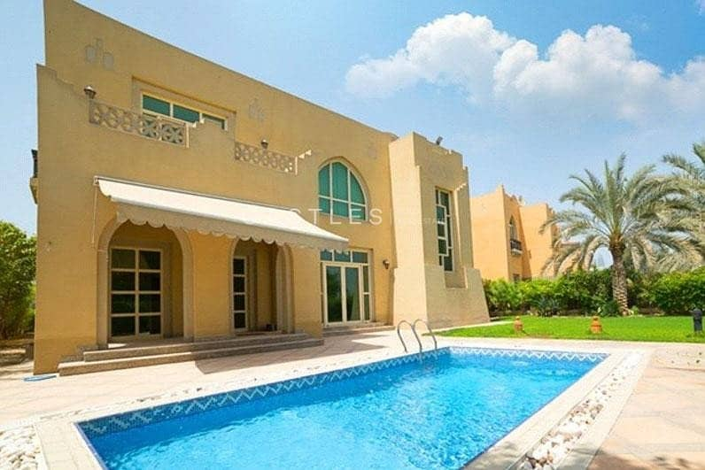 4 bed+maids Townhouse in Jumeirah islands