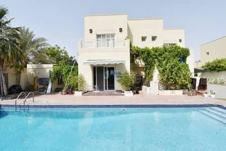 فیلا 4 غرف نوم للايجار في السهول، دبي - Upgraded Type 16 | Vacant | Private Pool  | Lake View