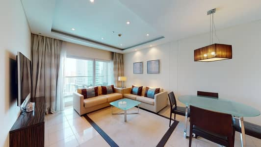 2 Bedroom Apartment for Rent in Jumeirah Lake Towers (JLT), Dubai - Flexible contract | City and lake views | Move-in ready