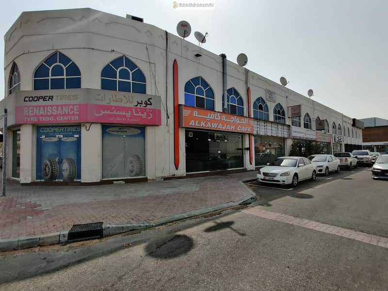 15 Special Offer! Spacious Showroom For Rent at Al Ittihad Main Road