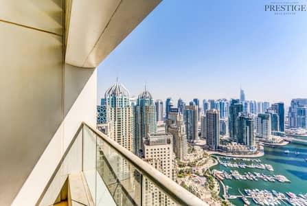 فلیٹ 2 غرفة نوم للبيع في دبي مارينا، دبي - 2 Bedroom I Vacant I Upgraded Kitchen