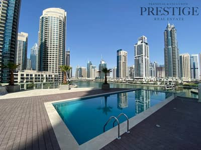Studio for Sale in Dubai Marina, Dubai - Studio ApartmentI l Higher floor I JBR & Sea views