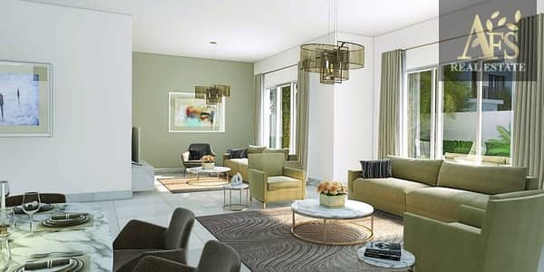 تاون هاوس 3 غرف نوم للبيع في مدن، دبي - Arabella 3 | Facing Pool & Park 3-BR+Maid | Single Row