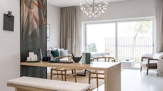 تاون هاوس 2 غرفة نوم للبيع في دبي الجنوب، دبي - 2Br Pool / open View - Ready