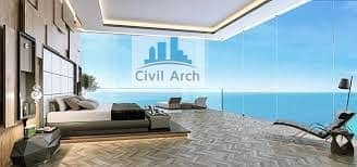 بنتهاوس 5 غرف نوم للبيع في نخلة جميرا، دبي - MAGNIFYING 3 FLOOR PH+ROOF TOP PRIVATE POOL+FULL SEA VIEW-BEST EVER