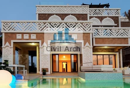 5 Bedroom Villa for Sale in Palm Jumeirah, Dubai - MOST DESIRED 5 BR VILLA OF PALM +5yrPAY