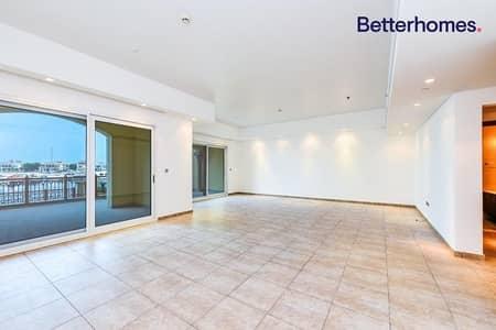 تاون هاوس 2 غرفة نوم للايجار في نخلة جميرا، دبي - Triplex | Sea view | Marina Residences 4