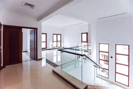4 Bedroom Villa for Sale in Jumeirah Golf Estate, Dubai - Golf course view | Upgraded spacious 4 BR