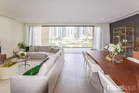 فیلا 4 غرف نوم للبيع في دبي مارينا، دبي - Luxury Podium 4 Bed Villa | 5* Quality | 3 Year PP