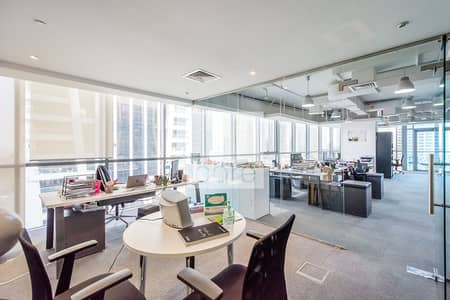 Office for Rent in Jumeirah Lake Towers (JLT), Dubai - Fitted and Partitioned Office | Low Floor