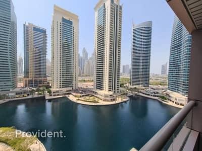 1 Bedroom Apartment for Rent in Jumeirah Lake Towers (JLT), Dubai - Beautiful Apartment | Full Lake View | V3 Tower