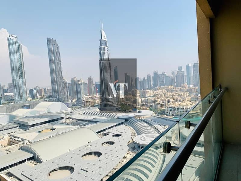 10 Furnished | 1 BR in Address Dubai Mall For Sale | Partial Fountain View
